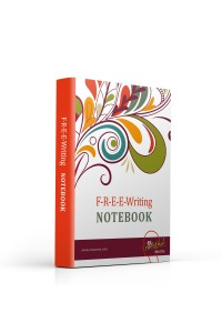 FREE Writing Notebook 3D Paperback
