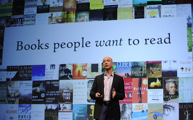 Jeff Bezos, Amazon Founder & CEO, On His Love of Books
