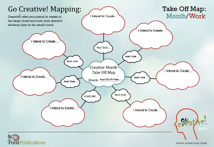 Creative Mapping (Month): Take Off Map Work