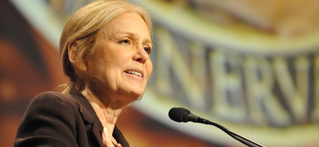 Gloria Steinem Author Activist