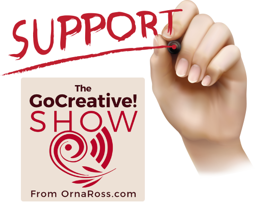 On The Go Creative! Show This Week: Don't Think, Just Do!