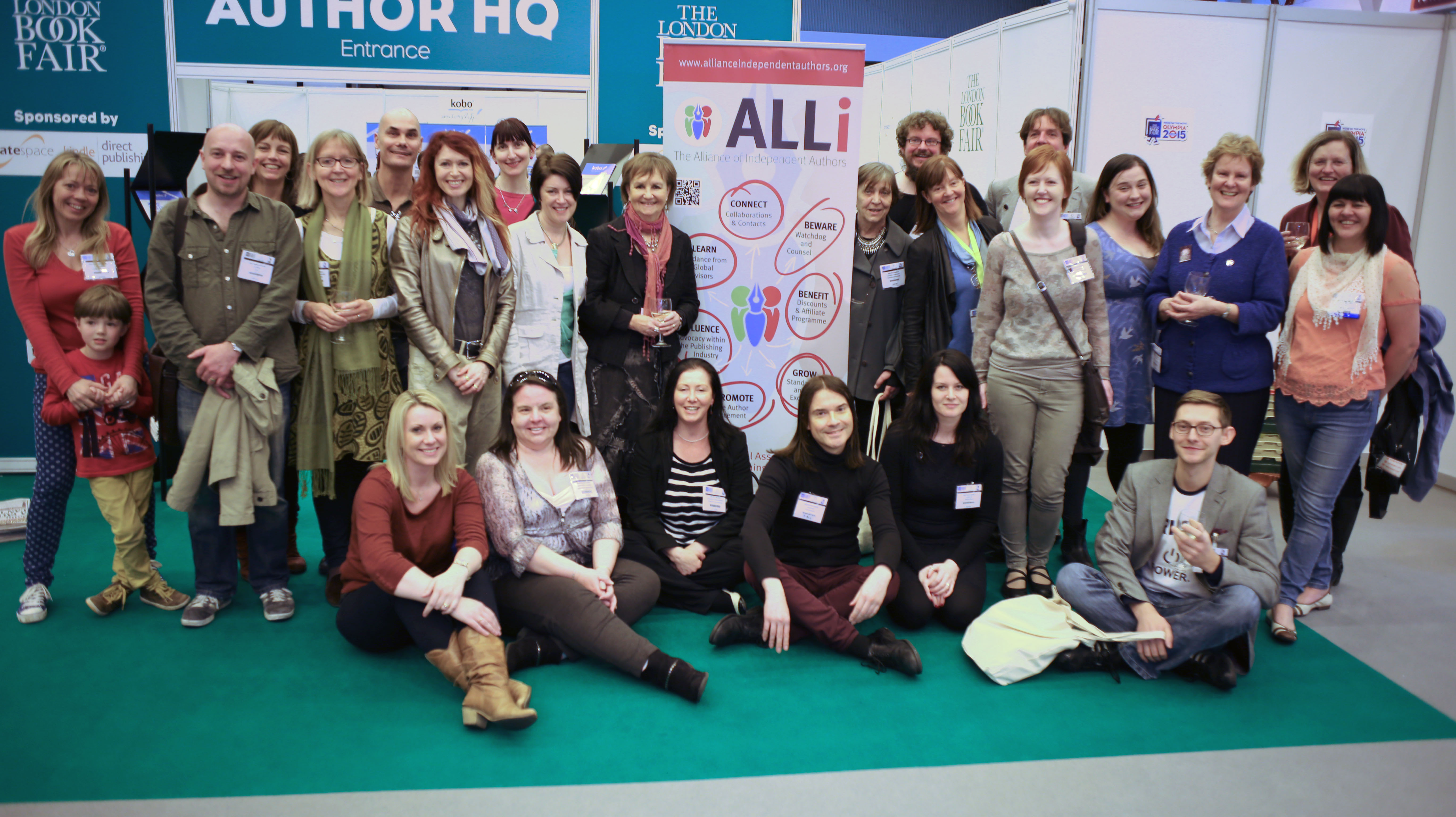 ALLiance of Independent Authors members at The London Book Fair
