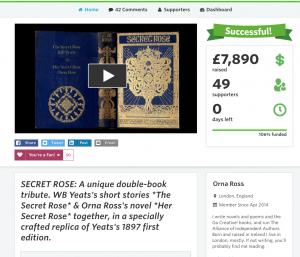 Screen Shot Crowdfunder Pubslush