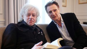 Bob Geldof on Yeats fanatic heart