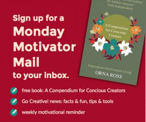 Monday Motivator email