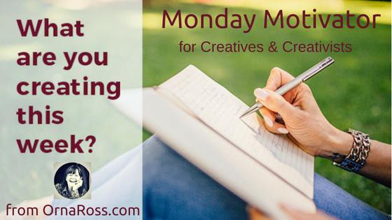 Go Creative Monday Motivator