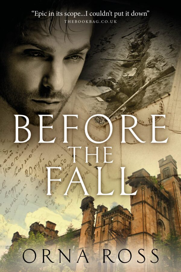 time slip fiction Before The Fall