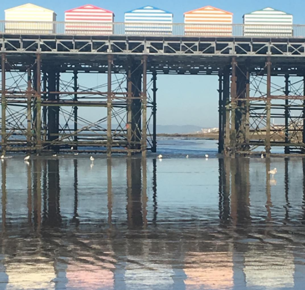 Creative Writing: Today's Poem To Inspire: Pier Stripes