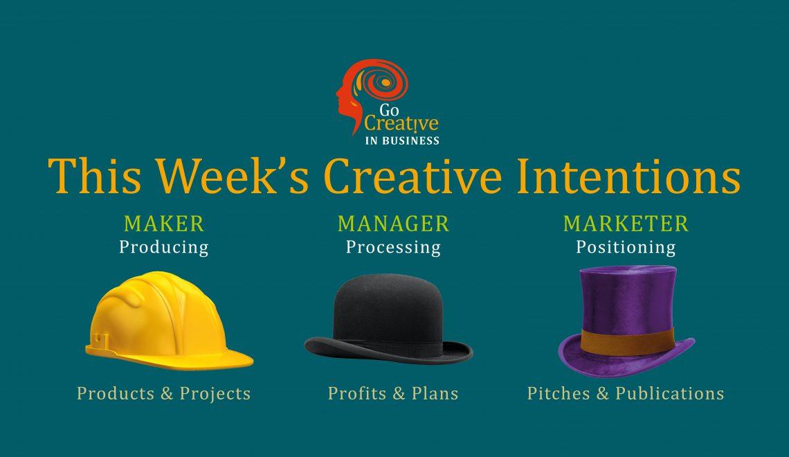 three jobs creative entrepreneur