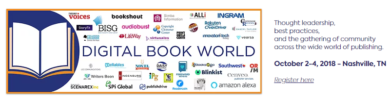 Join me and lots of ALLi members at Digital Book World