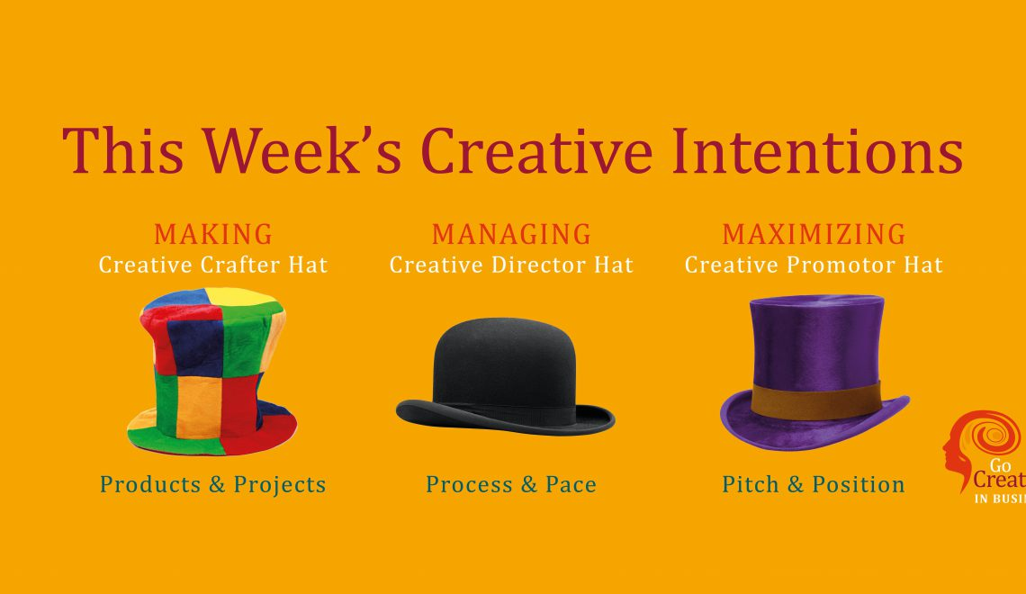 Join us to map your creative Intentions Week 49 2019