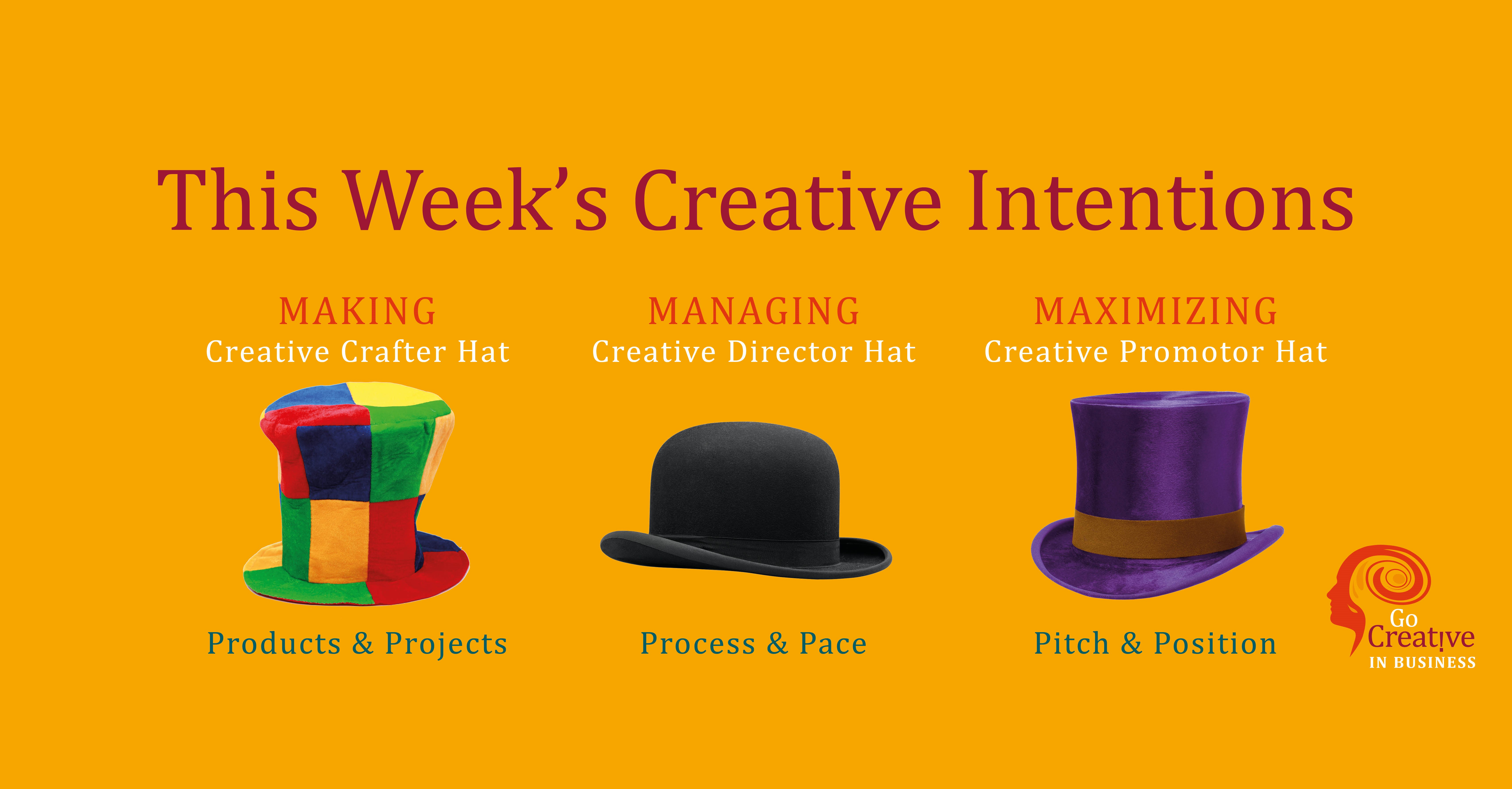 Creative Intentions Week 44 2019
