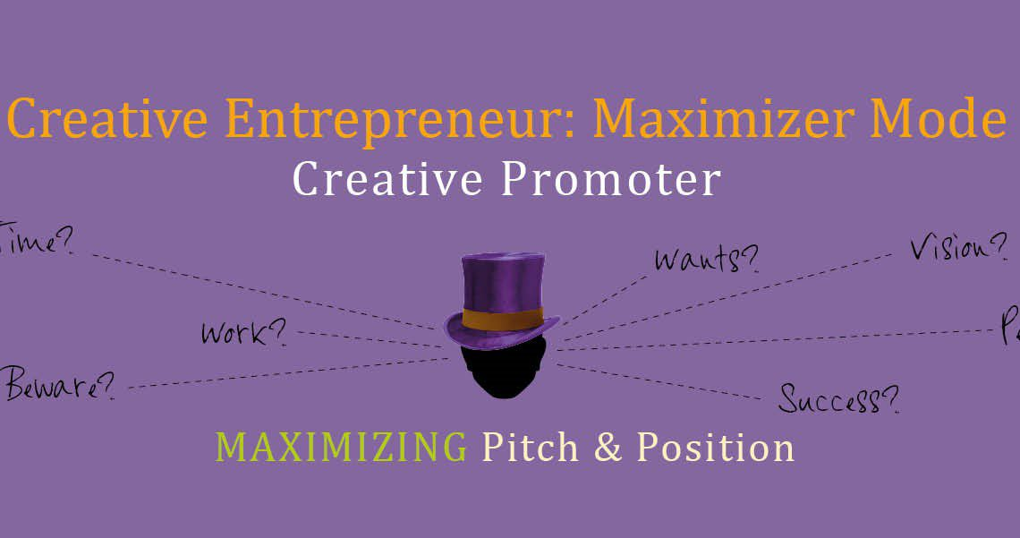 creative entrepreneurs are maximizers
