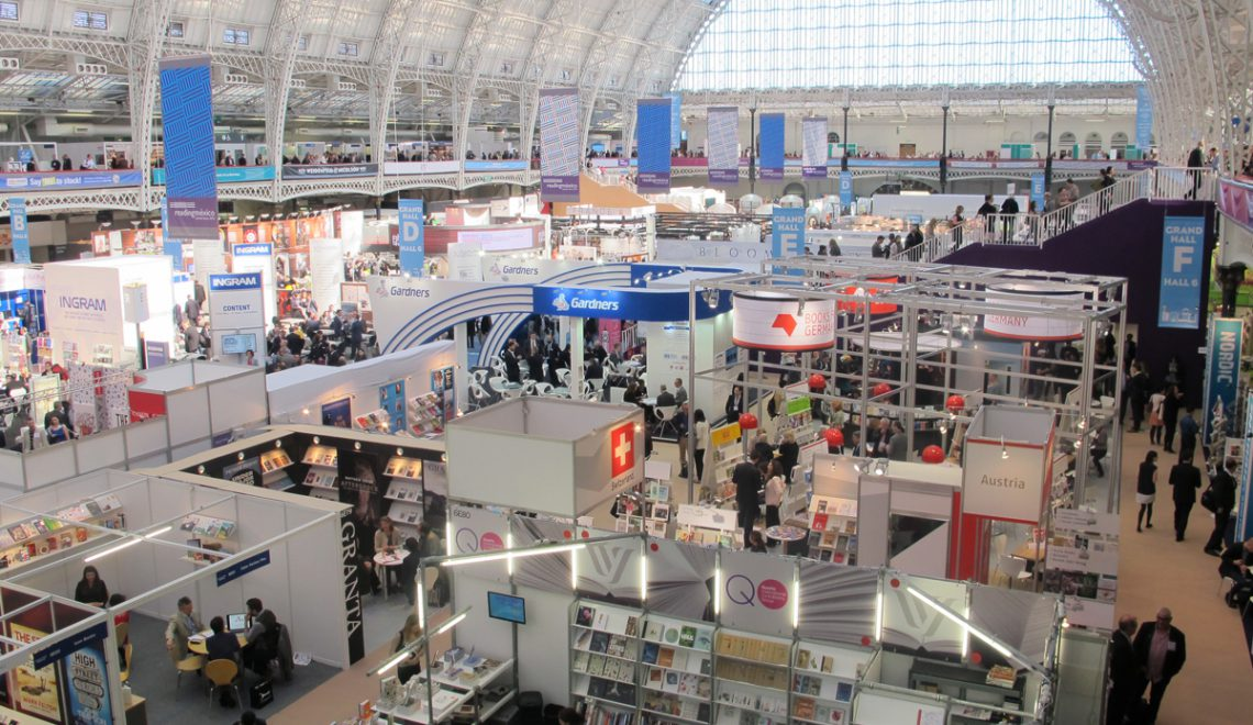 digital publishing for poets at the London Book Fair