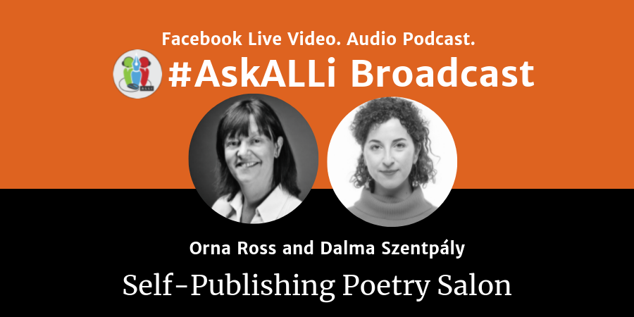LIVE: #AskALLi Self-Publishing Poetry Salon