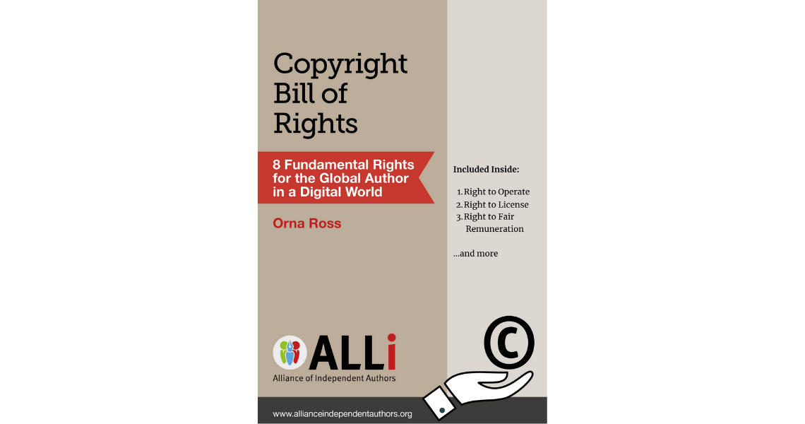 Indie Author Copyright Special: Launch of ALLi's Copyright Bill of Rights