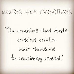 Optimising creative conditions
