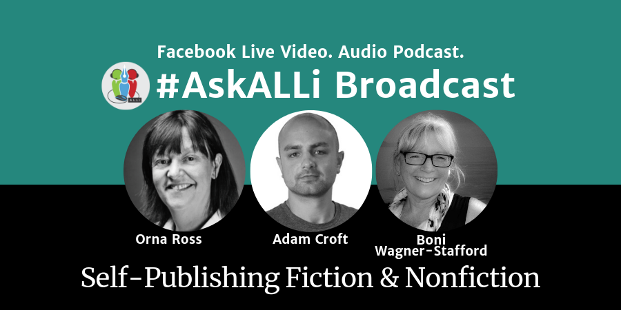 LIVE: #AskALLi Self-Publishing Fiction & Non-Fiction Salon