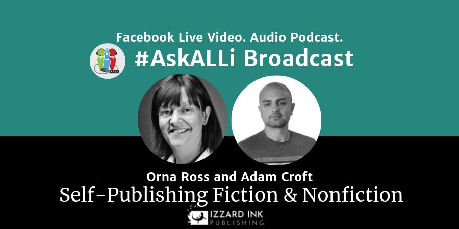 LIVE: #AskALLi Self-Publishing Fiction & Non-Fiction