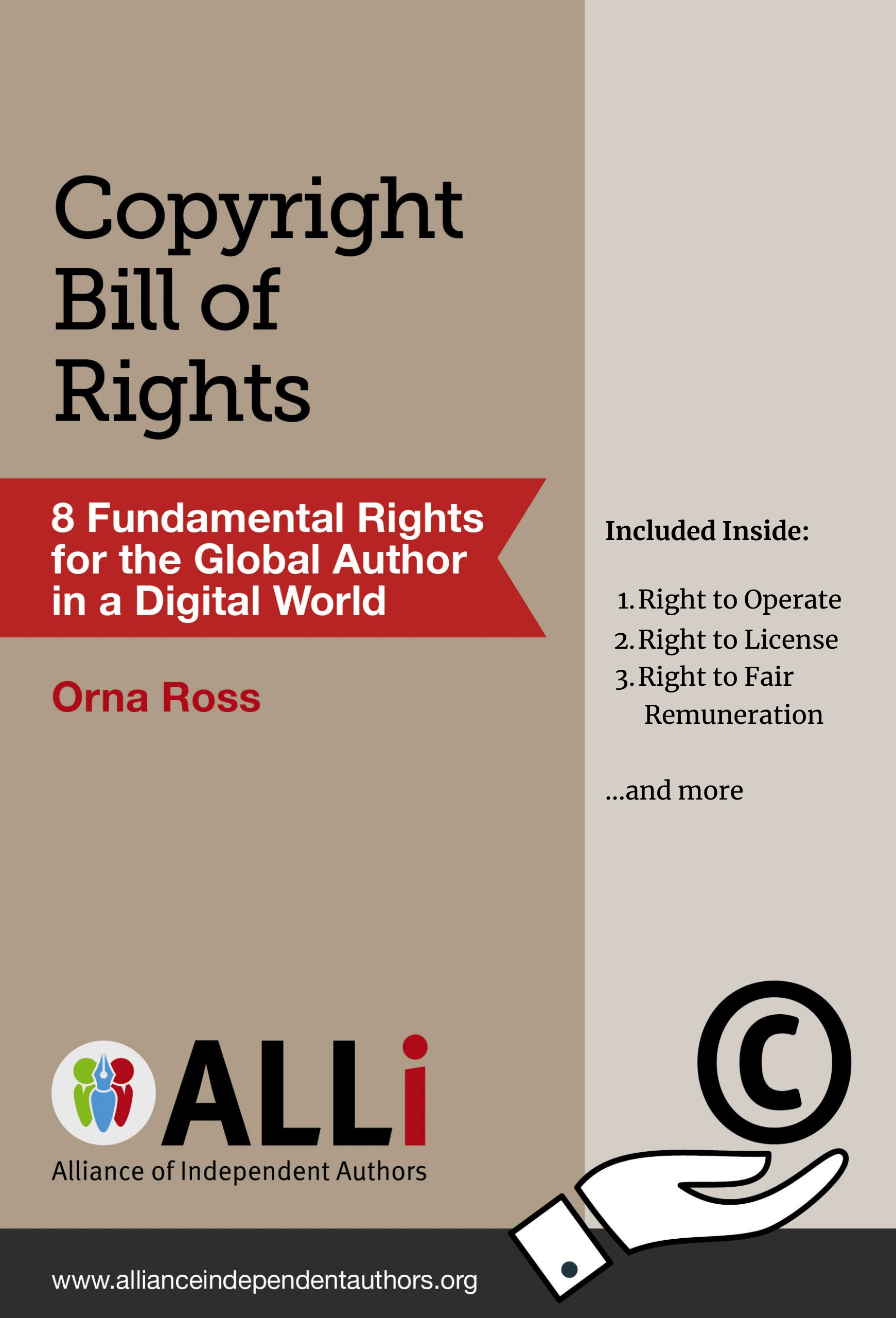 Copyright Bill of Rights