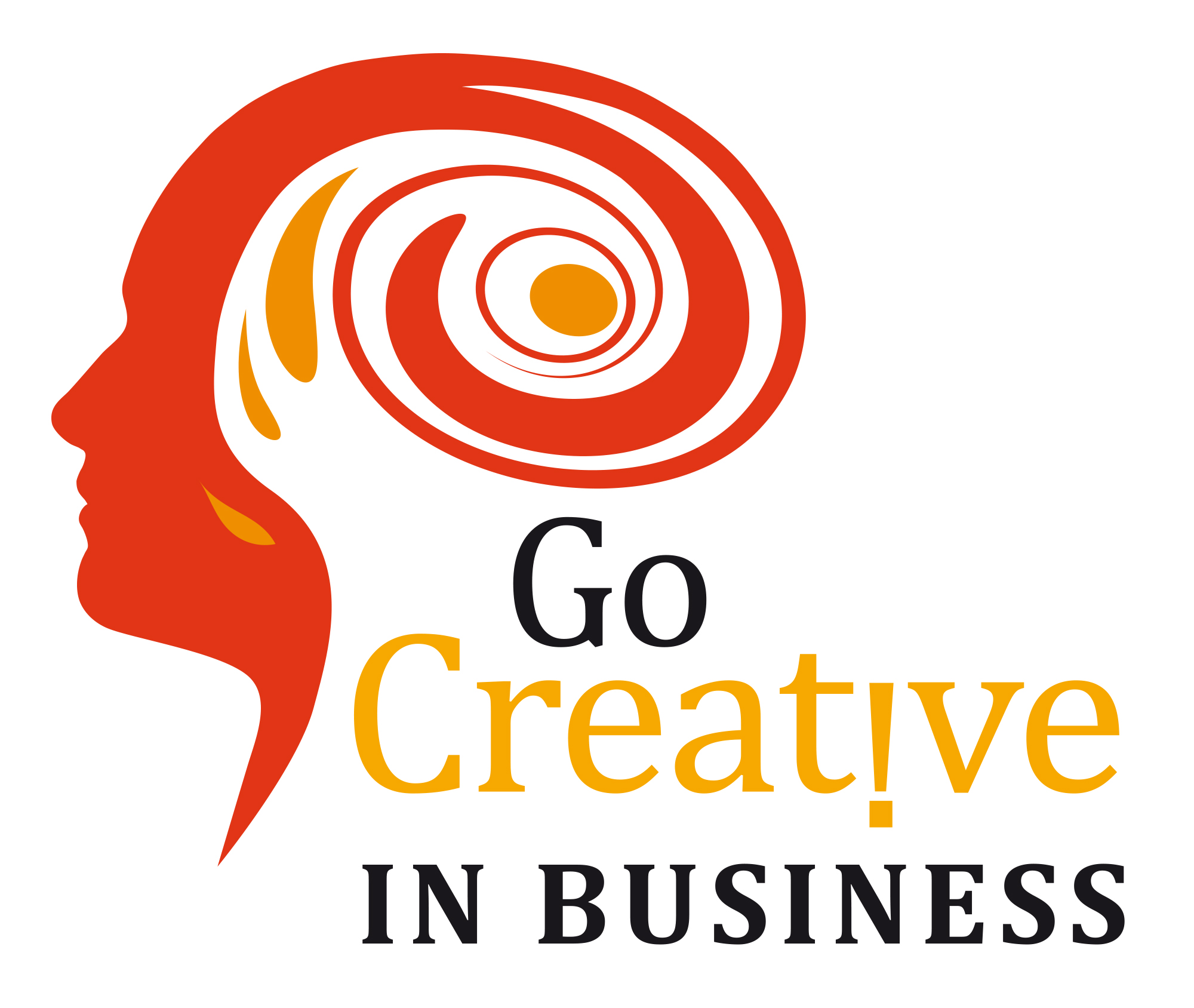 Go creative in business logo