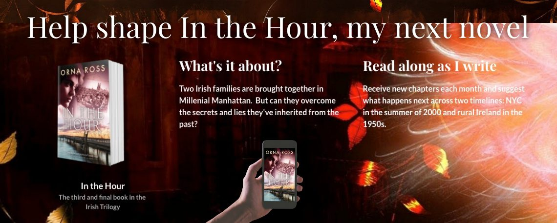 Help me develop my new novel: IN THE HOUR