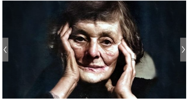 Fiction News: Unpublished Photographs of Maud Gonne