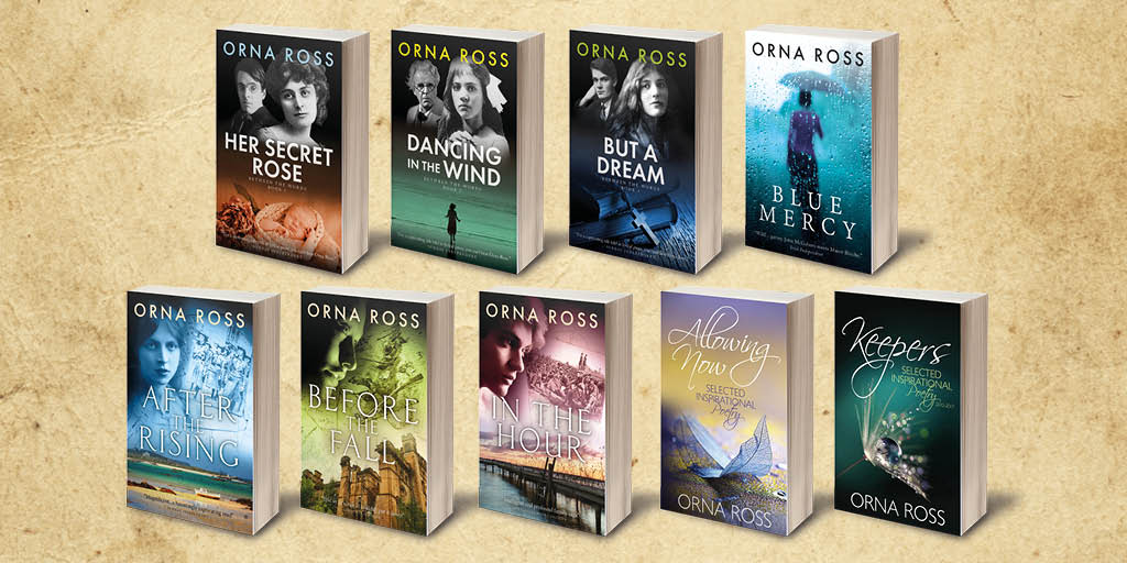 Irish historical fiction and inspirational poetry