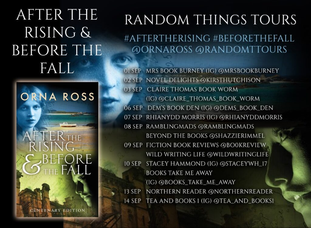 After the Rising Blog Tour Poster